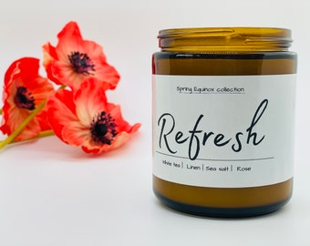 Refresh - Beautiful scent of linen, sea salt, and rose