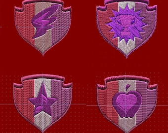 3 inch Crusaders' Cutie Mark patch - choice of one