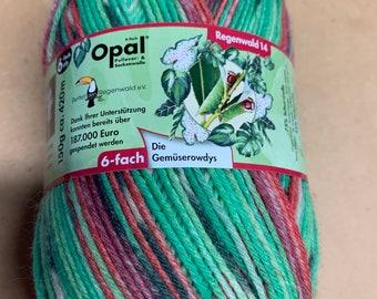 Opal Regenwad 14, 6 ply, 150g
