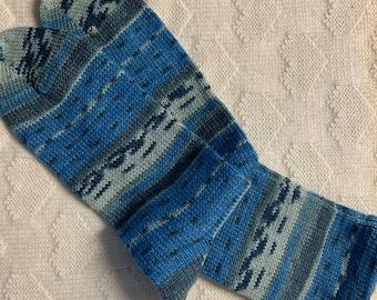 Size 13, Homemade Wool Socks