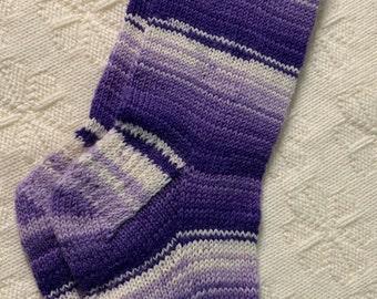Size 10, Homemade Socks - Multi Colour