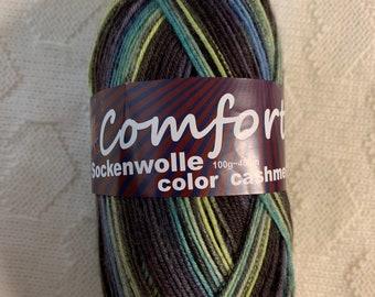 Comfort Cashmere Wellness Sock Yarn 100g,