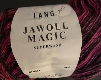 Lang Jawoll Magic Superwash 100g sock Yarn