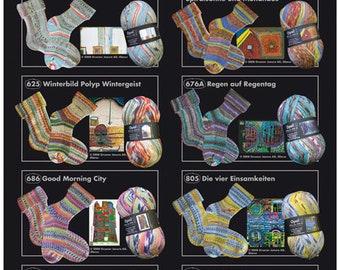 """Opal """"Hundertwassers Werk"""" 4 Ply Sock Yarn"""""""