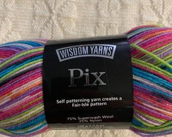 Wisdom Yarns PIX  100g Sock Yarn