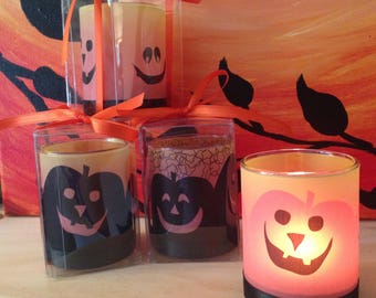 Halloween Candle Favor