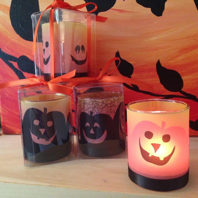 Halloween Candle Favor image 1