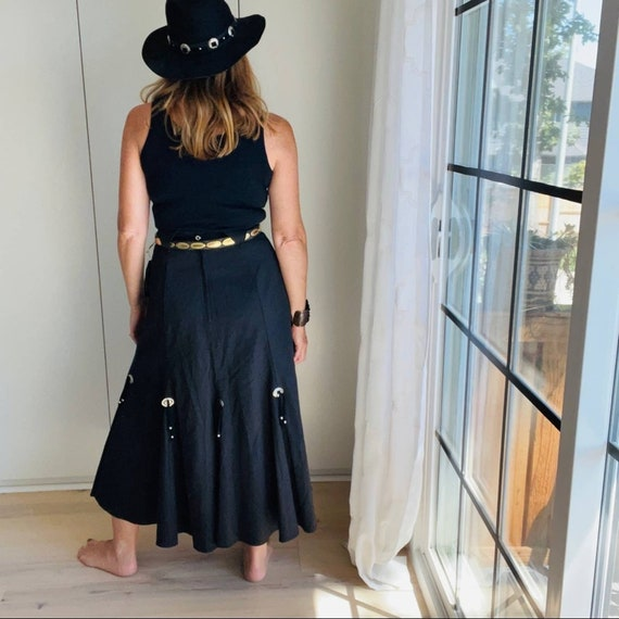Skirt, Roughrider Western Style,Vintage 90's Conch - image 3