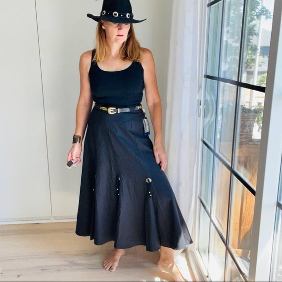 Skirt, Roughrider Western Style,Vintage 90's Conch - image 4