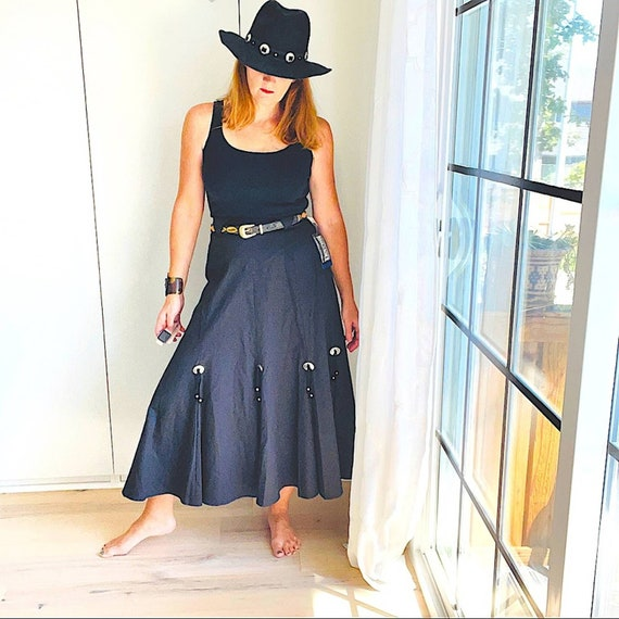 Skirt, Roughrider Western Style,Vintage 90's Conch - image 1
