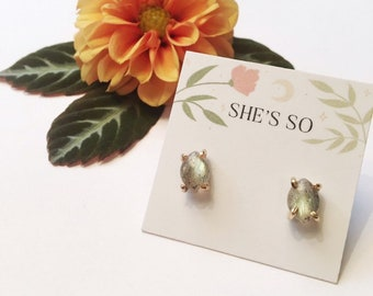 Marquise Cab Earrings