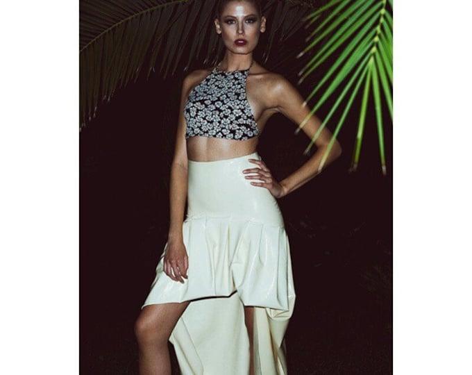 High waisted Dove skirt