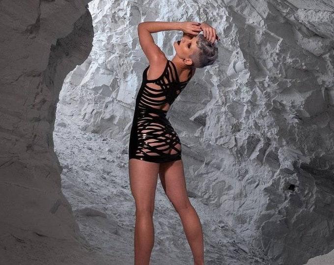 Strapped Mini Dress