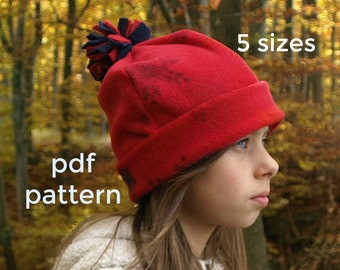 b0aafd85367 Winter Hat Pattern (S123)