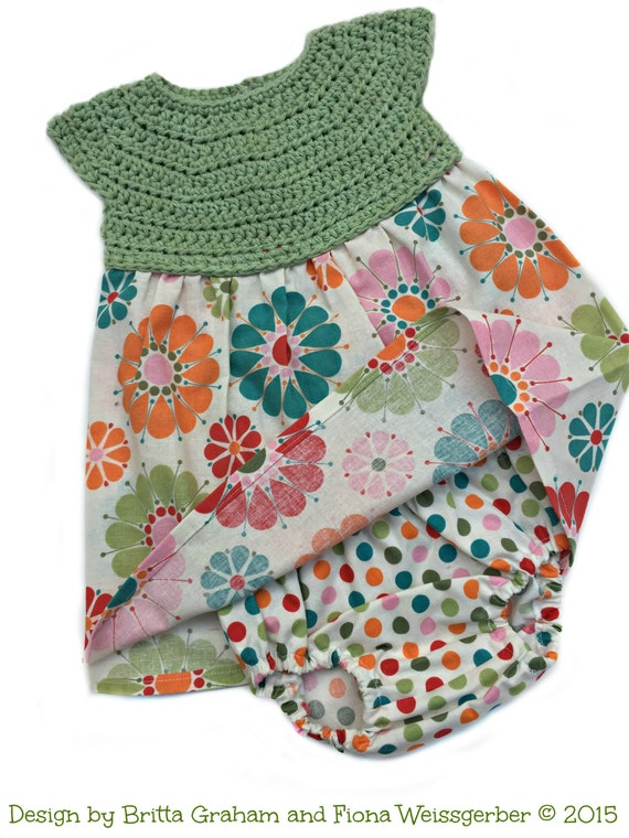 Crochet Dress Pattern For Baby Baby Crochet Pattern Baby Etsy