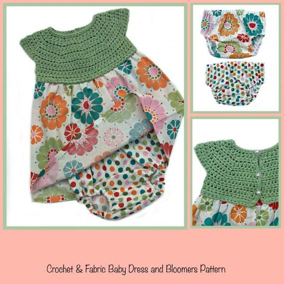 Baby Dress Crochet Pattern Baby Crochet Patterns For Girls Etsy