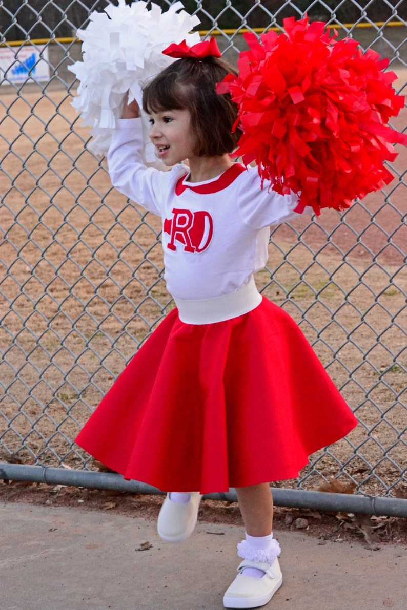 7eaf382bb3d Adorable 50 s style 2pc Rydell High Cheerleader Outfit