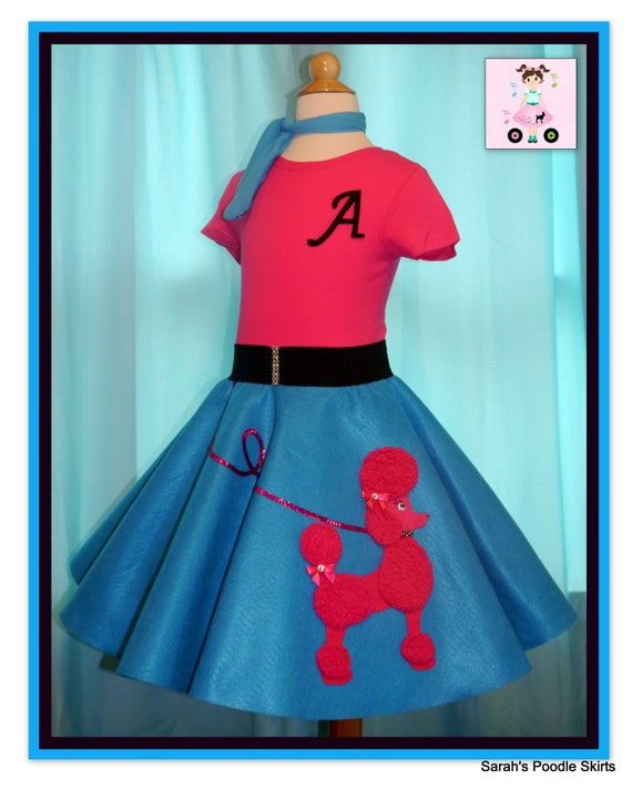 Toddler 50/'s Poodle Cutie Girls Grease Costume sz 4T-6T