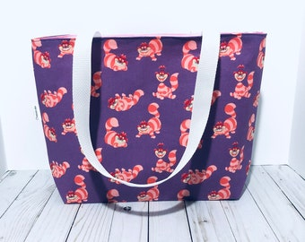 Disney accessories Tote Bag Cheshire Cat We\u2019re all mad here shopping bag