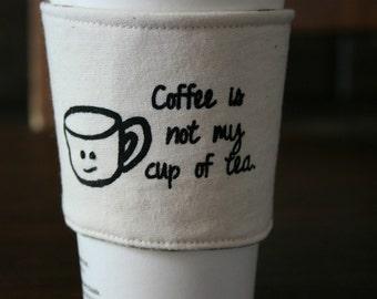 Not my cup of tea.