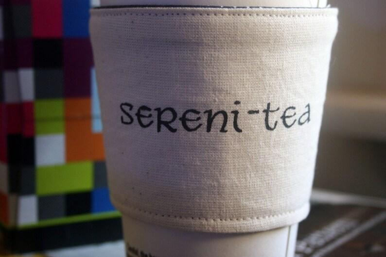Sereni-tea cup cozy image 0