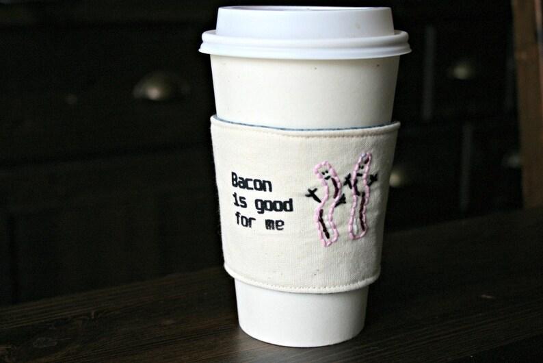 Bacon lover's cup cozy image 0