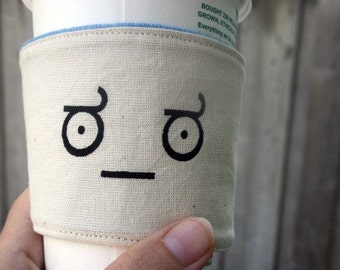 Look of disapproval cup cozy