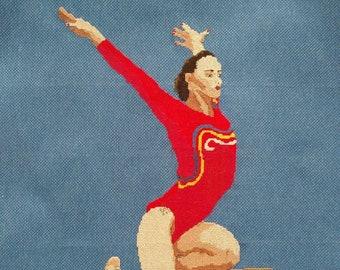 Gymnast Cross-Stitch Catalina Ponar (Romania)