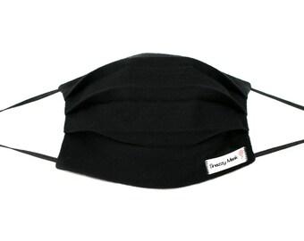 Black Face Mask - Warm Face Mask - Flu Mask - Winter Face Mask - Black Mask  - Men s Surgical Mask - Flannel Face Mask - Flannel Mask - Mask d186c3a12ff