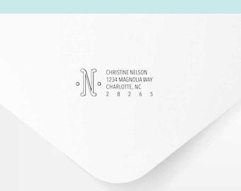 DODRS0161 Modern Alphabet-G 3cm Rubber Stamp