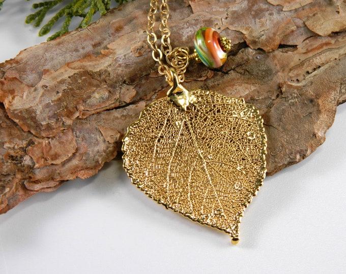 Real Leaf Jewelry
