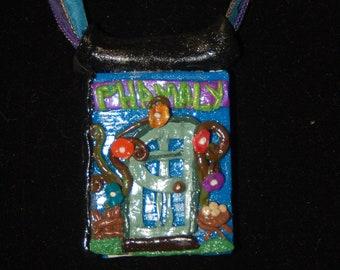Sale -  PHAMALY Storybook Pendant - Baker's Door