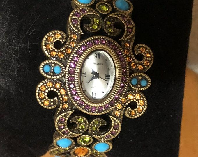 RARE! Heidi Daus Watch Bracelet