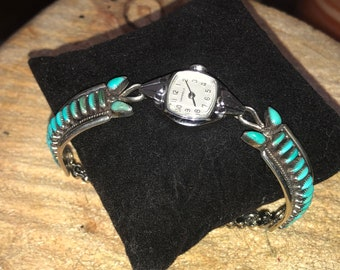 Ed and Jennie Vincenti Turquoise Watch