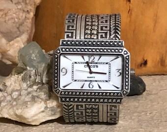 Vintage Chico's Markelle Ladies Cuff Bracelet Watch