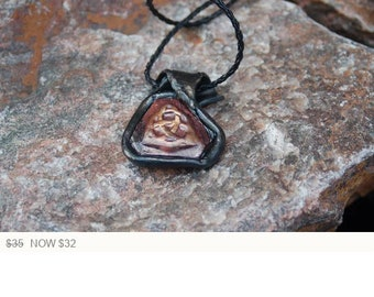 Sale -  Celtic Knot Pendant - Triquetra Knot Necklace - Unisex Endless Love Necklace
