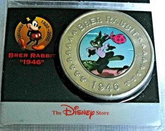 Disney Brer Rabbit Song of the South 1946 Splash Mountain Decades Coin