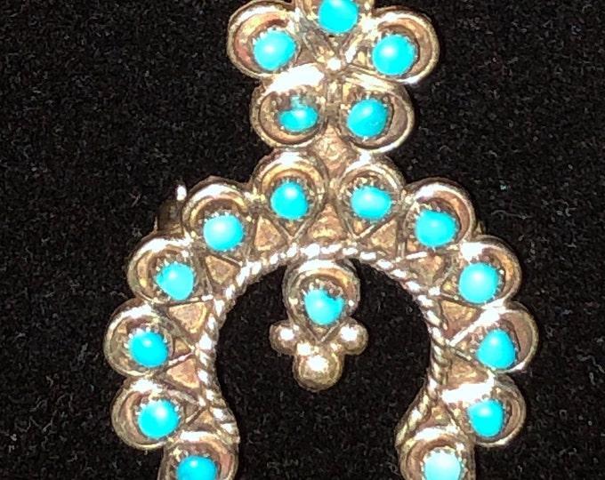 Vintage Malouf on the Plaza Pendant Brooch Necklace by V James