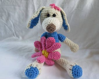 Crochet Dog, Amigurumi Puppy Dog, Dog Lover Gift, Plush Dog, Crochet Pet