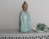 decorative figurine - Young Buddha Monk - Global Chic - feng shui