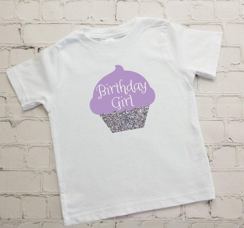 Toddler 2 Birthday Shirt Girls Birthday Glitter Shirt 2nd Birthday Girls Tee Shirt