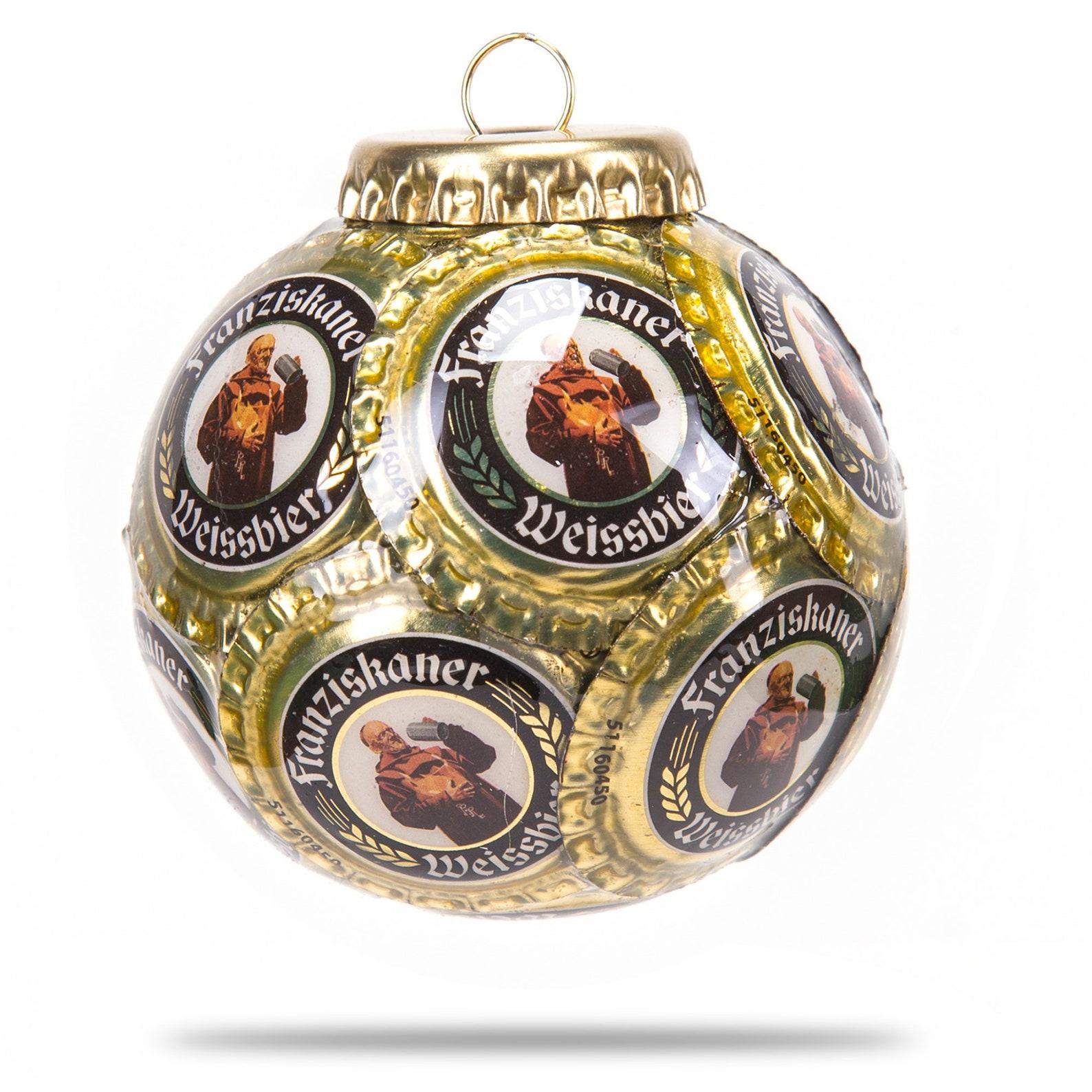 Franziskaner Bottle Cap Ornament