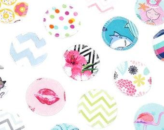 Reusable Makeup Remover Pads   Face Scrubbies   Facial Rounds   Makeup Wipes   Set of 20   Flannel   Random Assortment