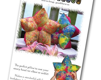 PRINT VERSION: Star Pillow Sewing Pattern