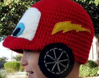 Cars  Lightning McQueen inspired Hat 89615409737