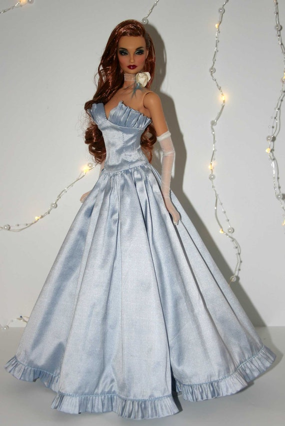 Dance with Me Gown Doll Clothes Sewing Pattern for Gene Marshall