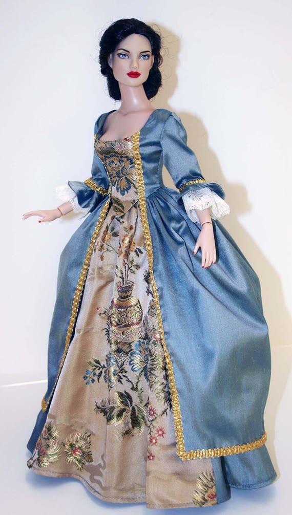 "Outlander Claire Fraser Sewing Pattern for 15.5/"" Gene Marshall Dolls Poldark"