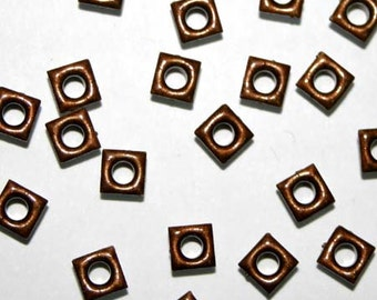 1/8 inch Square Shaped Eyelets for cards, tags, scrapbooking and embellishments