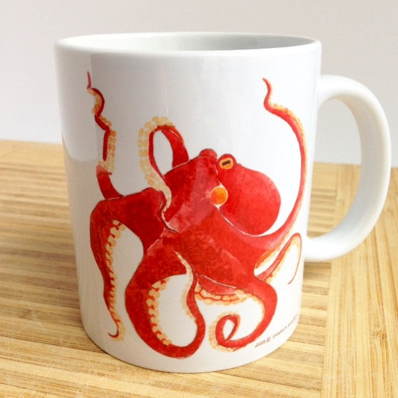 Mug pieuvre