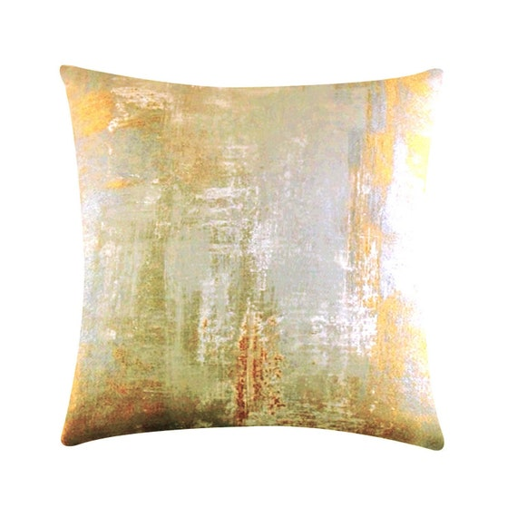 Luxe Blurred Lines Throw Pillow Cover